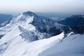 Snowy Whistler Mountains