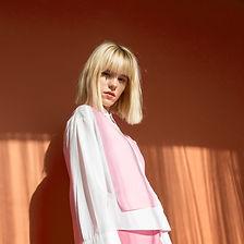 Model in Pink