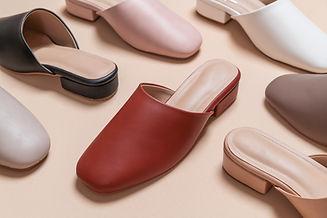 Composição de sapatos