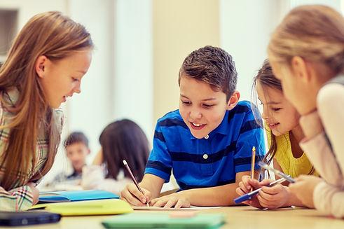 Groepsopdracht op basisschool