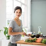Preparing Healthy Food- Plant Based Food