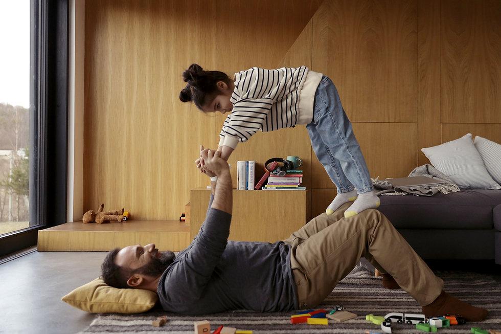 Far och dotter