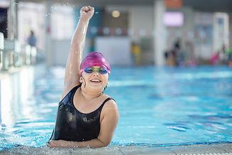 Victoire de natation