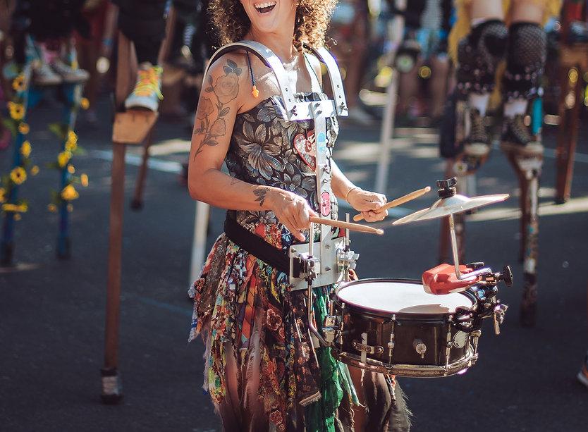 Carnival Drummer