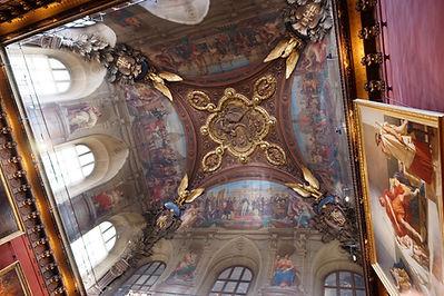 Plafond au Louvre