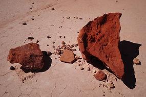 Rocks in Desert