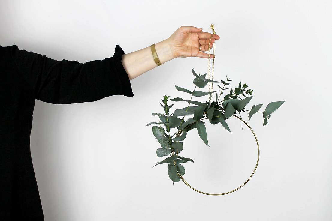 Plant muur opknoping