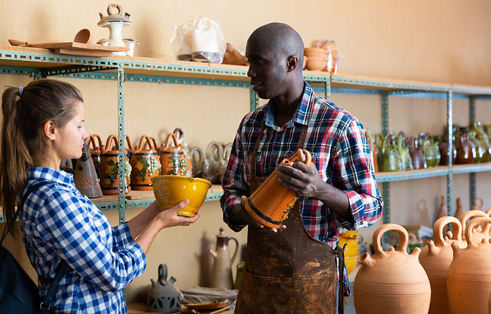Buying Pottery