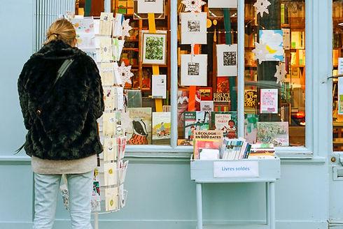 Librairie de village