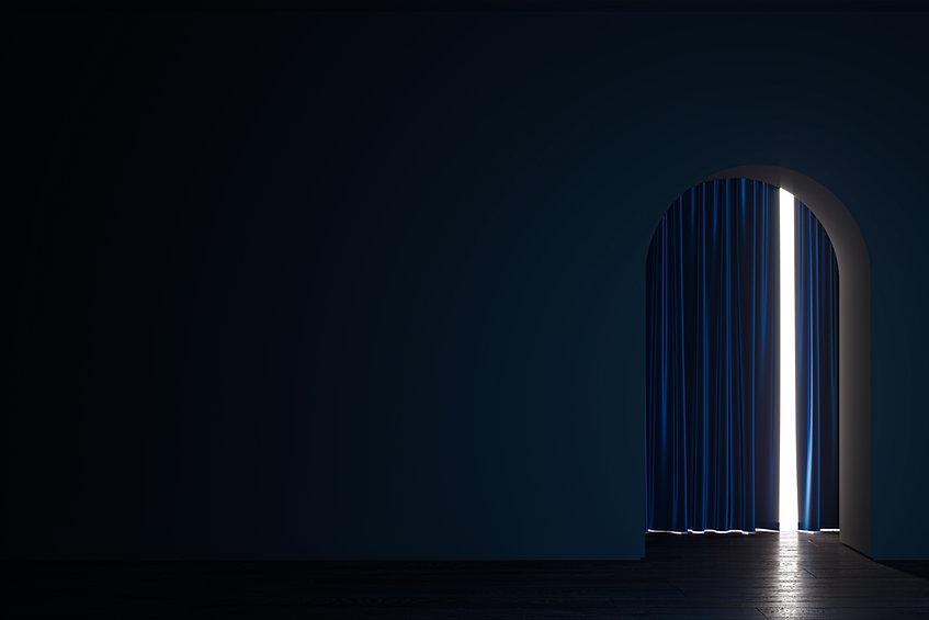 Light Through Curtain
