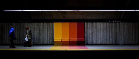Subway Station Seats