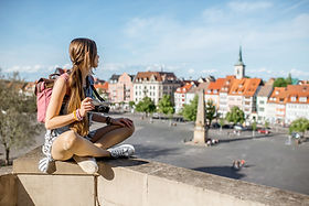 Studentin in Erfurt