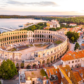 Pula Arena: The most preserved Roman Structure located outside of Italy.