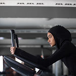 Workout with Hijab