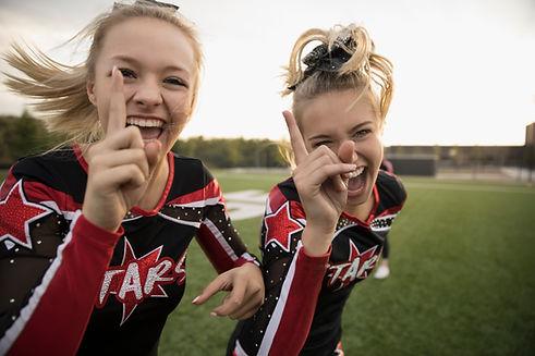 Blonde Cheerleaders