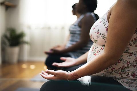 Cours de méditation maternité
