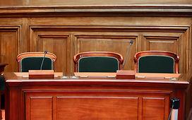 Cadeiras para sala de audiências