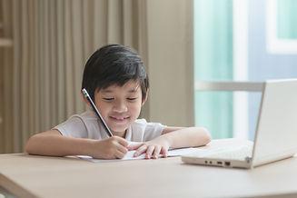 Child Writing Notes