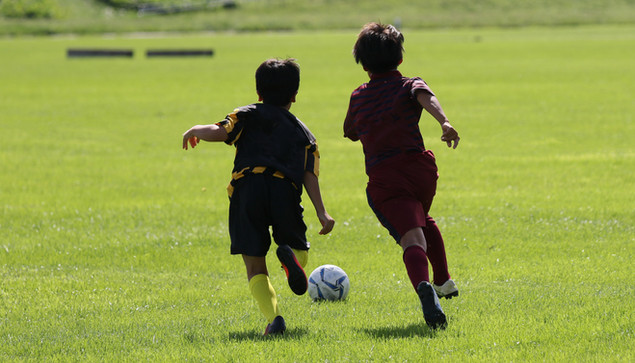 子供たちのスポーツ活動を応援しています。