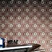 Flower Patterned Wall