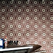 Flower Patterned Wall