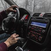 Instruções do painel do carro