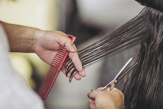 A Woman's Haircut