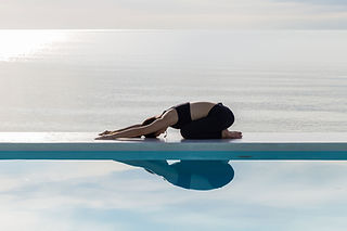Pool Reflection Stretching