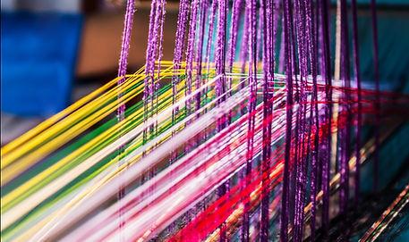 fils colorés