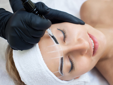 The Differences Between Temporary to Semi-Permanent Brow Services