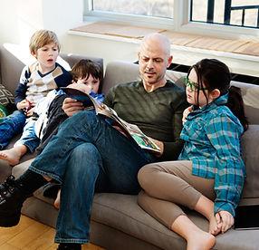 Family Reading Comic Book