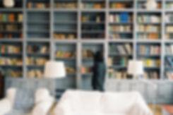 Bibliothèque résidentielle