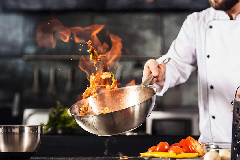 Cucinare col fuoco