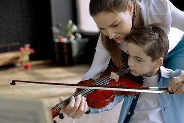 Clase de violín