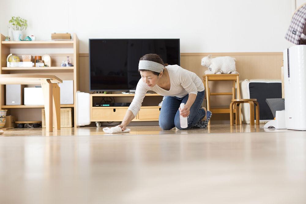 花粉が家具などについてしまうと、症状が出やすくなるので、症状を抑えるためには掃除をすることが鉄則