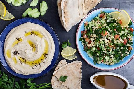 Hummusplatta