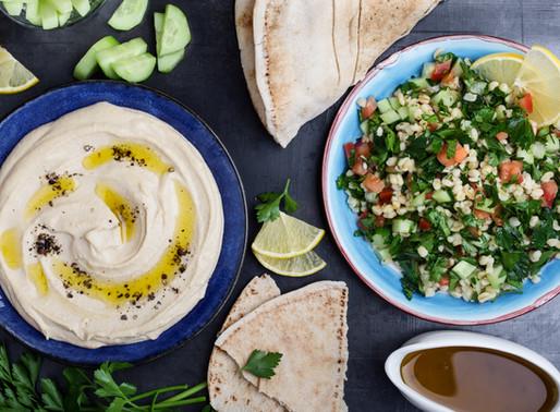 Hummus al estilo guacamole