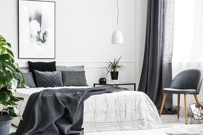 Gray Theme Bedroom
