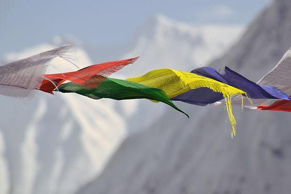 Tibetanska bönflaggor