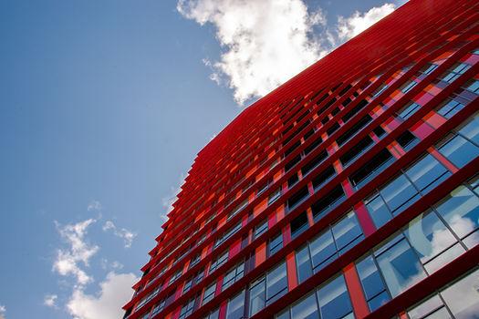 Rode hoogbouw Rotterdam