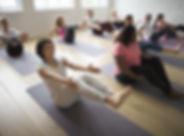 Diversão no Yoga