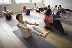 S'amuser au yoga