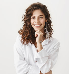 Woman in White Blouse