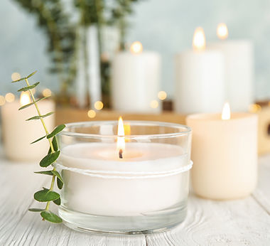 Свечи и Растения