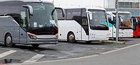 Autobuses estacionados