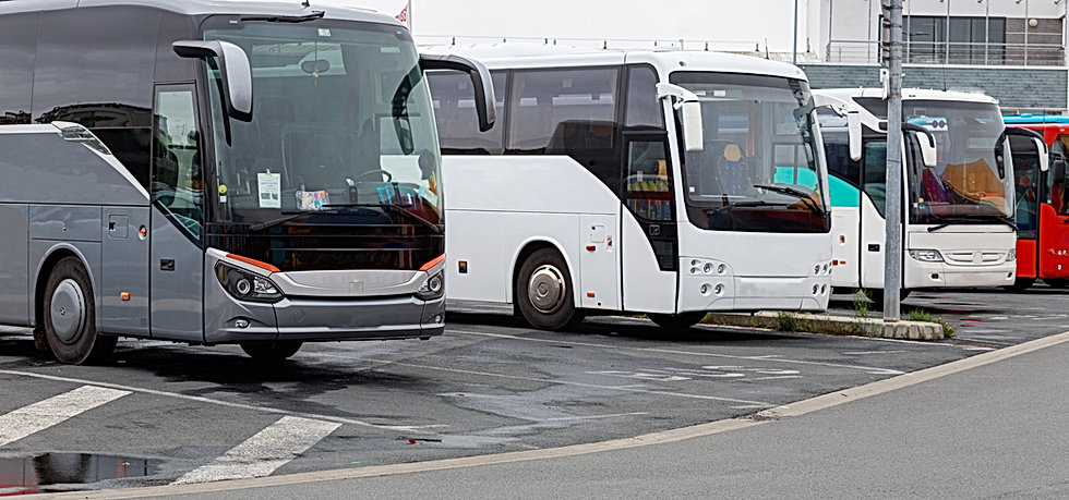 Parked Buses