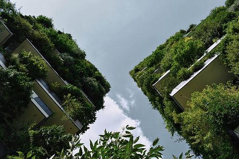 Umweltfreundliche Gebäude