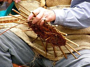 Výroba košíku