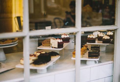 Bakery Window Display