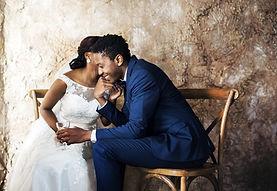 Couple nouvellement marié